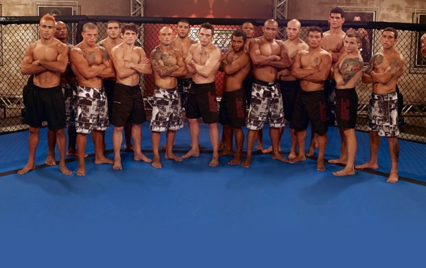 Finalistas do programa TUF- The Ultimate Fighter Brasil