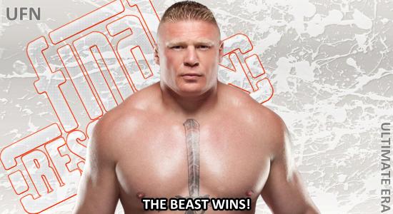 the beast wins