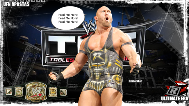 TLC Resultados - UFN WWE Champion Brunotaker