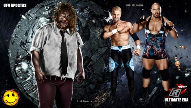 UFN Tag Team Championship - Rickdepaula vs Bad Religion